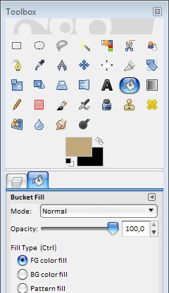 how to change the layer mode in gimp